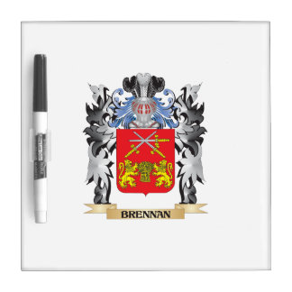 Brennan Coat of Arms - Family Crest Dry-Erase Board