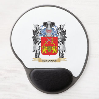 Brennan Coat of Arms - Family Crest Gel Mouse Pad