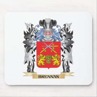 Brennan Coat of Arms - Family Crest Mouse Pad