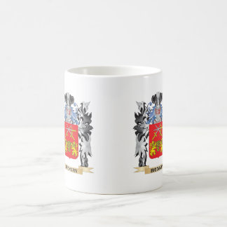 Brennan Coat of Arms - Family Crest Classic White Coffee Mug