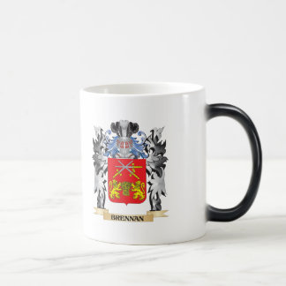 Brennan Coat of Arms - Family Crest 11 Oz Magic Heat Color-Changing Coffee Mug
