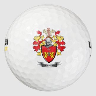 Brennan Coat of Arms Golf Balls