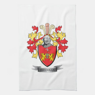 Brennan Coat of Arms Kitchen Towels
