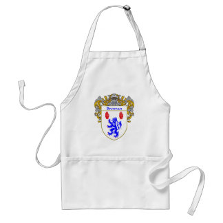 Brennan Coat of Arms (Mantled) Adult Apron