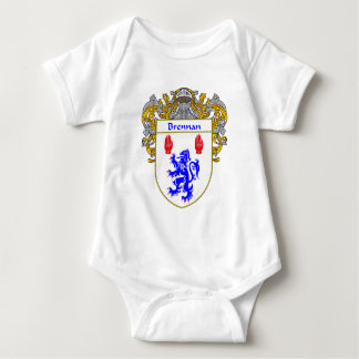 Brennan Coat of Arms (Mantled) Baby Bodysuit
