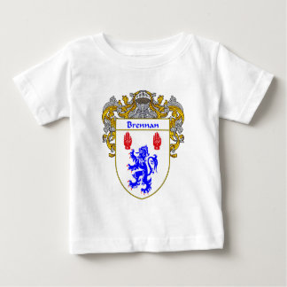 Brennan Coat of Arms (Mantled) Baby T-Shirt