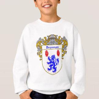 Brennan Coat of Arms (Mantled) Sweatshirt