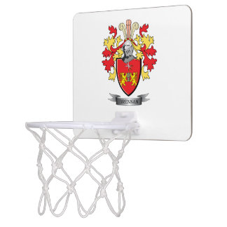 Brennan Coat of Arms Mini Basketball Hoops