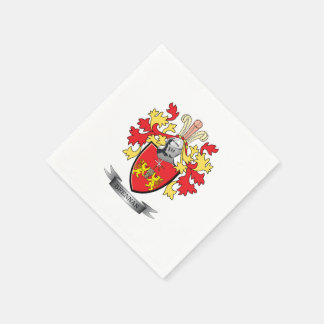 Brennan Coat of Arms Paper Napkin