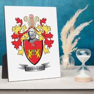 Brennan Coat of Arms Plaque
