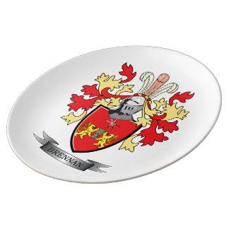 Brennan Coat of Arms Plate