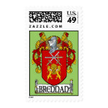 Brennan Coat of Arms Postage Stamps