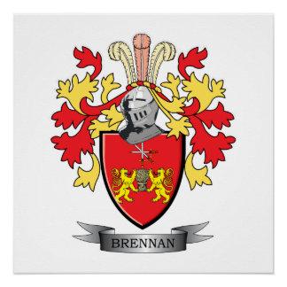 Brennan Coat of Arms Poster