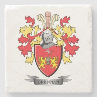 Brennan Coat of Arms Stone Coaster