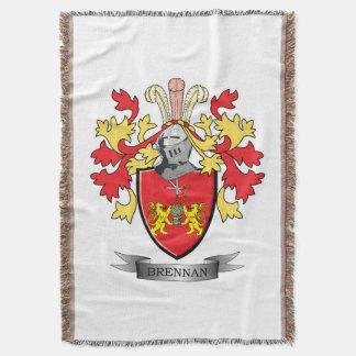 Brennan Coat of Arms Throw Blanket