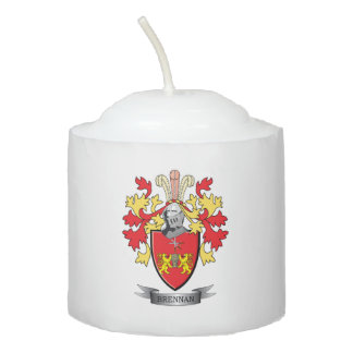 Brennan Coat of Arms Votive Candle