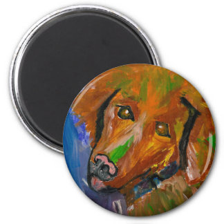 BRENNAN DOG ART MAGNET