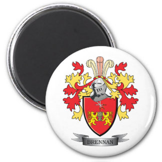 Brennan Family Crest Coat of Arms Magnet