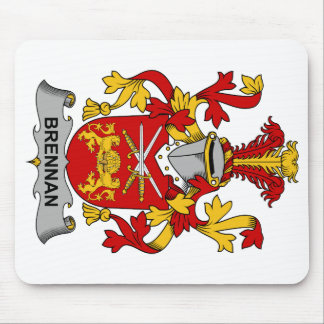 Brennan Family Crest Mouse Pad