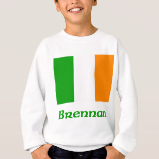 Brennan Irish Flag Sweatshirt