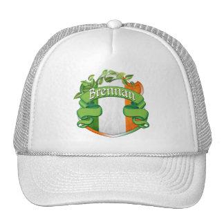 Brennan Irish Shield Trucker Hats