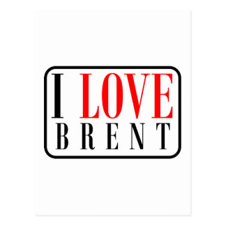 Brent, Alabama City Design Postcard