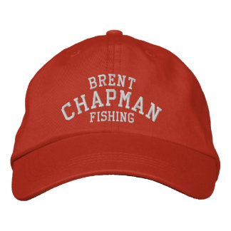 Brent Chapman Bass Fishing Embroidered Hats