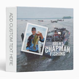 Brent Chapman Bass Fishing Tournament Photo Binder