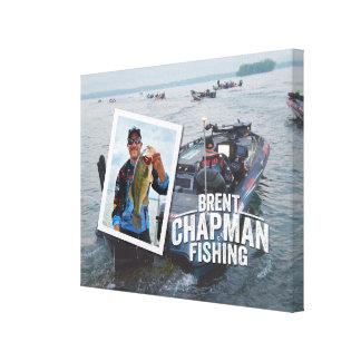 Brent Chapman Bass Fishing Tournament Photo Canvas Print