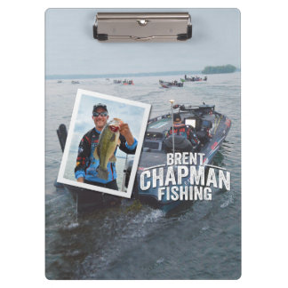 Brent Chapman Bass Fishing Tournament Photo Clipboards