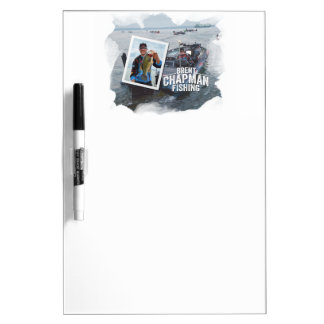 Brent Chapman Bass Fishing Tournament Photo Dry Erase White Board