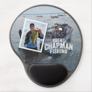 Brent Chapman Bass Fishing Tournament Photo Gel Mouse Pad