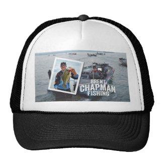 Brent Chapman Bass Fishing Tournament Photo Hats