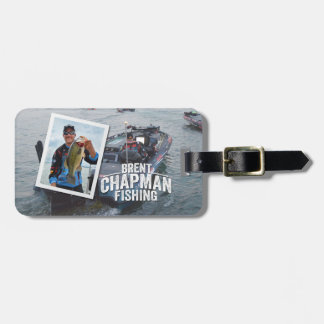 Brent Chapman Bass Fishing Tournament Photo Luggage Tag