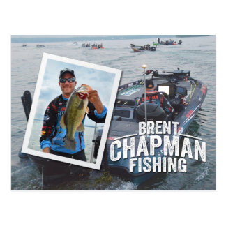 Brent Chapman Bass Fishing Tournament Photo Postcard