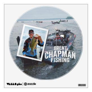 Brent Chapman Bass Fishing Tournament Photo Wall Sticker