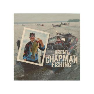 Brent Chapman Bass Fishing Tournament Photo Wood Wall Art