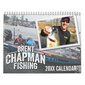 Brent Chapman Bassmaster Fishing - Photo Calendar
