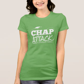 Brent Chapman Fishing Chap Attack with Lure T-Shirt