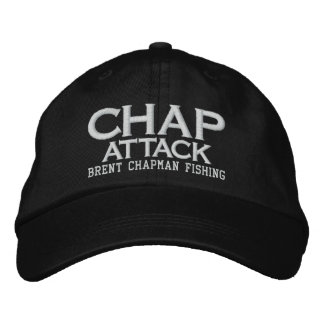 Brent Chapman Fishing Logo - Chap Attack Embroidered Hat