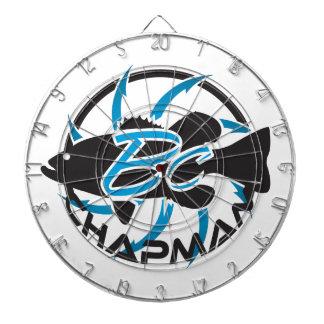 Brent Chapman Fishing Logo Dartboard