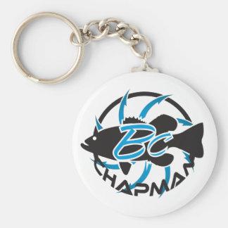 Brent Chapman Fishing Logo Keychain