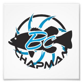 Brent Chapman Fishing Logo Photographic Print