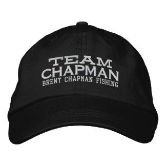 Brent Chapman Fishing Logo - Team Chapman Embroidered Baseball Cap
