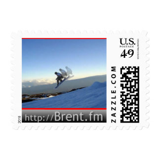 Brent Jumping Hawaii Stamp