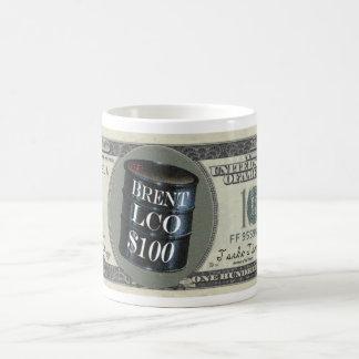 Brent LCO $100 Taza De Café