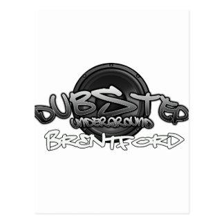 Brentford UK DUBSTEP Dub Grime reggae Electro DnB Postcard