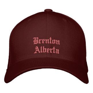Brenton Alberta Canada Hat Embroidered Hats