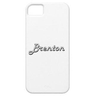 Brenton Classic Retro Name Design iPhone 5 Covers