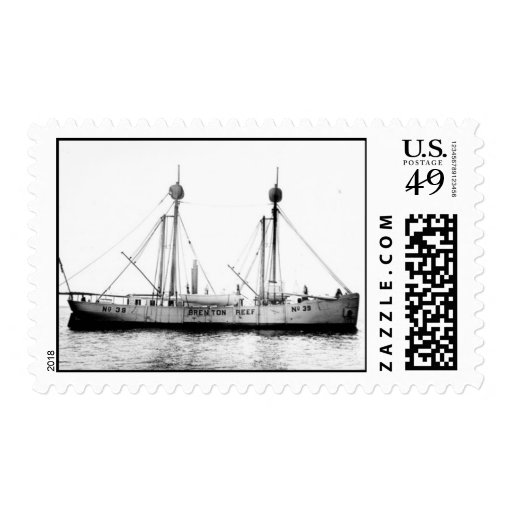 Brenton Reef Lightship LV-39 Postage Stamps